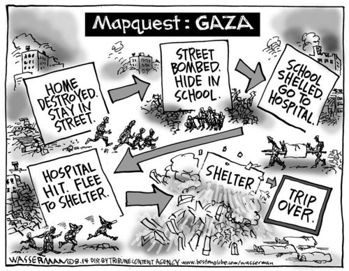 Mapquest GAZA
